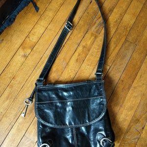 Fossil cross body purse. Love Live Vintage.